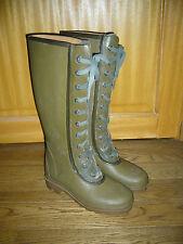 bottes de pluie caoutchouc à lacet P39 Le Chameau doublées cuir