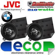 Haut-parleurs de voiture BMW série 3 E36 JVC 10 cm 210 Watts 2 voies & insonorisation