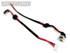 Dc Power Jack Socket y de alambre de cable dw191 Toshiba Satellite A500 L450 L450d L500