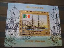 Briefmarken Korea Block Motiv  Columbus Amerika 1983