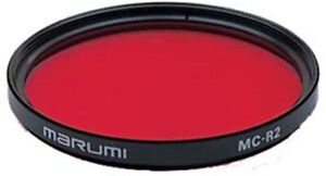 Marumi MC-R2 RED for High contrast Monochrome photography filter MADE in JAPAN