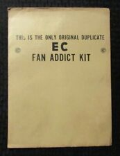 1971 EC FAN ADDICT KIT Original Duplicate/Reprint SEALED Patch Sticker Bulletins