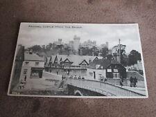 Sussex Postcard - Castle & street scene - Arundel
