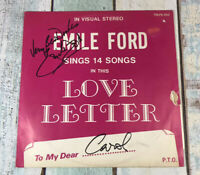 Emile Ford – Emile Ford Sings 14 Songs In This Love Letter LP -YELLOW 1ST PRESS