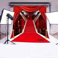 LB 10x10ft Red Carpet Vinyl Photography Backdrop Customized Photo Background Stu
