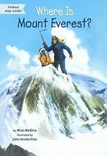 WHERE IS MOUNT EVEREST? - MEDINA, NICO/ HINDERLITER, JOHN (ILT) - NEW BOOK