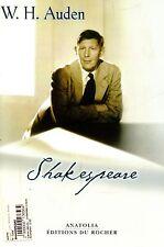 W. H. Auden = SHAKESPEARE