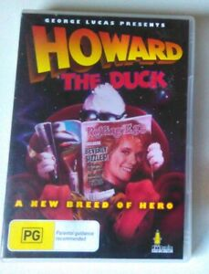 HOWARD THE DUCK dvd REGION 0 ALL george lucas RARE OOP sci-fi 1986 umbrella