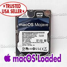 """Macbook Pro Hard Drive 2.5""""OSX Mojave 10.14 750GB 2.5"""" Mid-2012 A1278 MD101LL/A"""