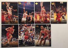 1995 Upper Deck Michael Jordan #23 Pippen Caffey Kukoc Rodman Simpkins Perdue
