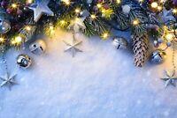 A1 | Pretty Christmas Poster Art Print 60 x 90cm 180gsm - Xmas Pine Gift #15028
