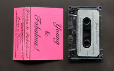YOUNG & FABULOUS - Demo Cassette Tape 4 Track 1994 RARE Glam Rock