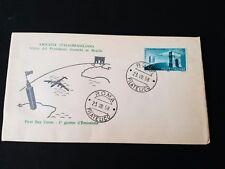 REPUBBLICA  BUSTA FDC  1958 AMICIZIA ITALO BRASILIANA