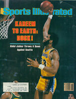 Kareem Abdul-Jabbar May 5 1980 Sports Illustrated Magazine