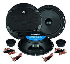 Hifonics BRUTUS BRX6.2C 16,5 cm Komponenten-Lautsprecher 200 Watt RMS: 100 Watt