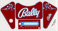 Bally EVEL KNIEVEL Pinball Machine APRON DECAL SET