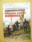 Livre Chronologie de la première guerre mondiale /T34