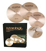 "Istanbul Mehmet Traditional Cymbal Pack Box Set1 + 18"" Crash"