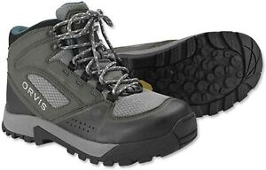 NEW SIZE 8 WOMENS ORVIS ULTRALIGHT WADING BOOTS W/ VIBRAM STICKY RUBBER SOLES