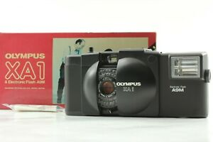 Rare [Unused in Box] OLYMPUS XA1+A9M 35mm Point & Shoot Camera From JAPAN