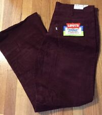 Vintage Levis Small E Bell Bottom Durawale Plus Men's Corduroy Pants.