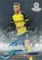 2017-18 Topps Chrome UEFA Champions League - Base Autographs - You Pick