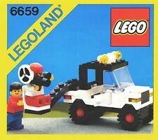 LEGO Town TV Camera Crew (6659) (Vintage)