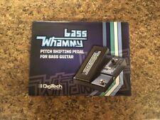 Digitech Bass Whammy Pitch Shifter Pedal