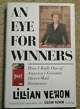 AN EYE FOR WINNERS by LILLIAN VERNON SIGNED 3X HC 1ST EDITION 1ST PRINTING