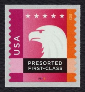 #5016 Spectrum Eagle w/ Plate #, Single, Mint **ANY 5=FREE SHIPPING**