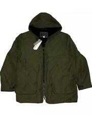 J Crew Fleece Lined Hooded Jacket Parka PrimaLoft Size M Loden Green NWT