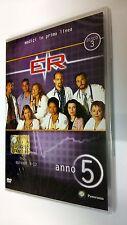 E.R. Medici  in prima linea DVD Serie TV Stagione 5 Disco 3 Episodi 4