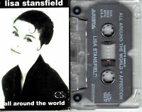 Lisa Stansfield All Around The World 1989 Cassette Tape Single Pop Dance Rock