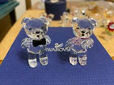 Swarovski First Kiss Bears Crystal Figurines Mint w/ Box 1114098