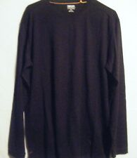 NWT Men's Kirkland Signature Black Long-Sleeve Crew Neck T-Shirt, Size  Medium