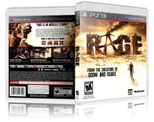 RAGE - Replacement PS3 Cover and Case. NO GAME!!!