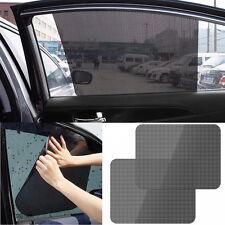 Car Rear Window Side Sun Shade Cover Block Static Cling Visor Shield Screen 2Pcs