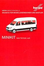 HERPA MiniKit 1:87 MAN TGE Bus / Mannschaftswagen weiß Bausatz #012935 NEU/OVP