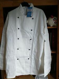 Portwest Somerset large  White Chefs Jacket New