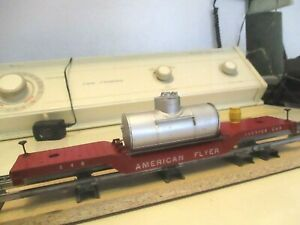 """AMERICAN FLYER "" # 648 SERVICE CAR ALL ORIGINAL NEEDS TWO  6 WHEEL TRUCKS"