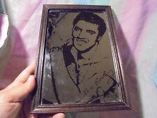 Keller Bar Dekoration Vintage Elvis Presley Spiegel, 70er Jahre, Musik, Legende