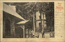 Bungsberg bei Schönwalde Holsteinische Schweiz AK 1899 Gruppenfoto Verlag Klopp