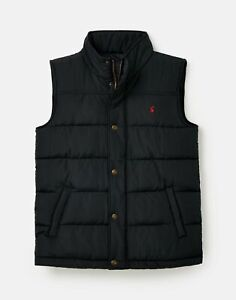 Joules Mens 211187 Barrell Quilted Gilet - Marine Navy - L