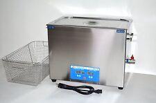 DSA800SE-SK2 30L 8GAL 1600W 40KHz DIGITAL ULTRASONIC PARTS CLEANER +BASKET+LID