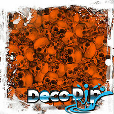 ORANGE SKULL DEAD HEDZ HYDROGRAPHIC HYDRO DIP DIPPING FILM KIT LL801WORANGEPAINT