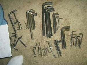 METRIC AND FRACTION ALLEN WRENCHES AND MORE
