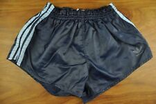 vtg Adidas Sprinter Shiny West German High Leg Shorts -Glanz Ibiza - Small x451