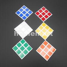 Dayan Cube Replacement Stickers 3x3x3 for Speed Cube PVC Rubiks cube sticker NEW