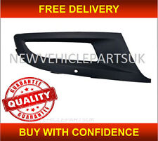 VW POLO 2009-2014 FRONT BUMPER FOG GRILLE WITH FOG HOLE DRIVER SIDE APPROVED