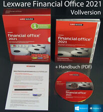 Lexware financial Office 2021 versión completa box + CD, Manual (PDF), actualizaciones nuevo